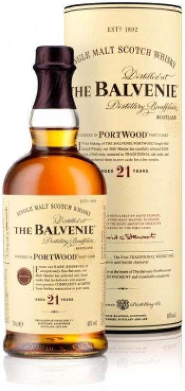 Balvenie PortWood 21 Years Old, gift tube