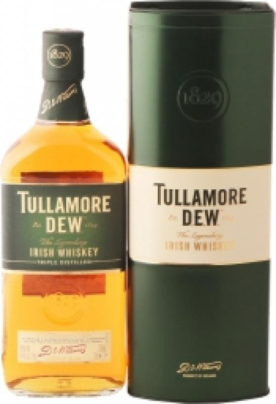 Tullamore Dew with Pouring Stand, gift box