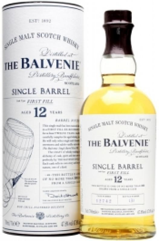 "Balvenie ""Single Barrel"" First Fill, 12 Years Old, in tube"