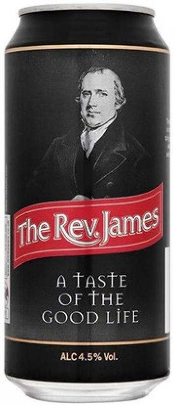 "Brains, ""The Rev. James"", in can"