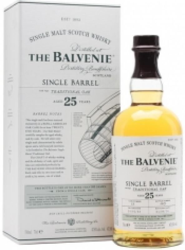 "Balvenie ""Single Barrel"" Traditional Oak, 25 Years Old, gift box"
