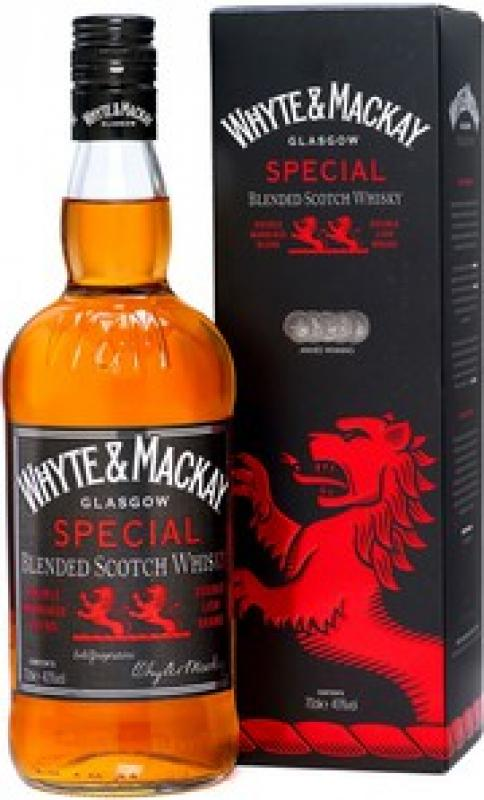 """Whyte & Mackay"" Special, box"