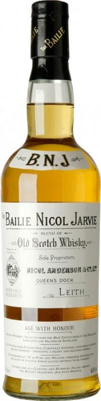 """Bailie Nicol Jarvie"" Very Old Reserve"