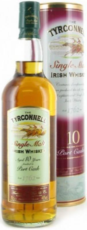 """Tyrconnell"" 10 years Port Finish, gift box"