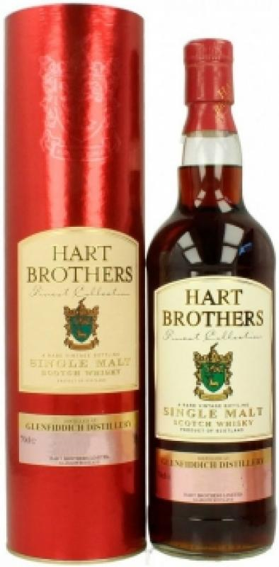 Glenfiddich, Hart Brothers  44 Years Old, 1964, in tube
