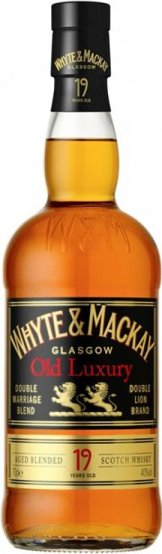 """Whyte & Mackay"" Old Luxury 19 years old"