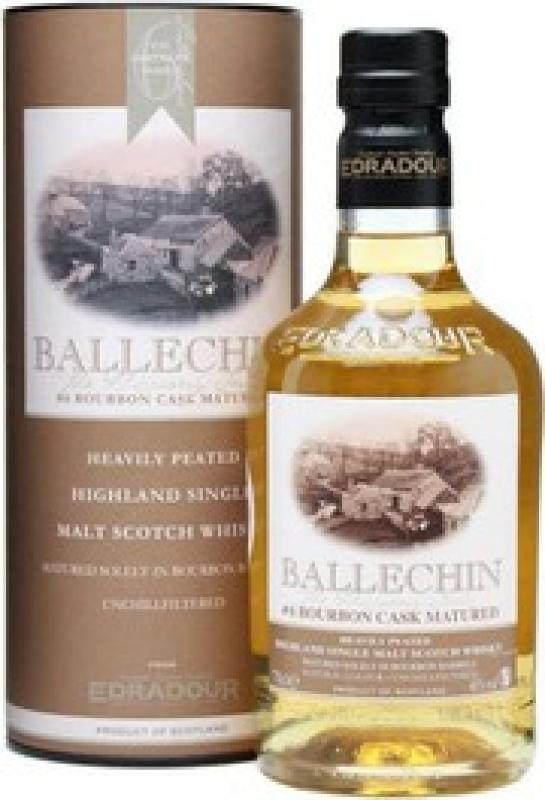 """Ballechin"" #6 Bourbon Cask Matured, gift box"