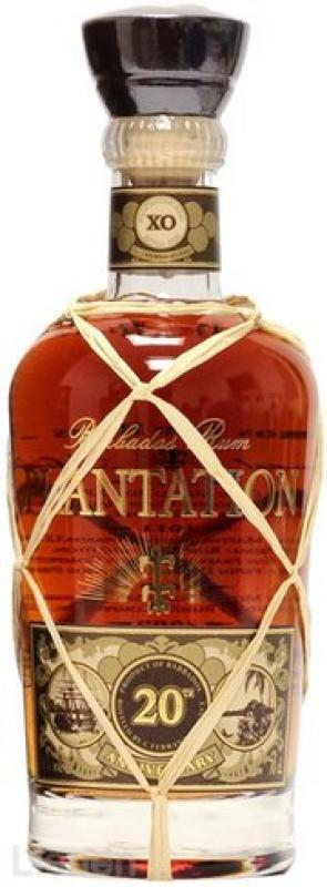 """Plantation"" Ferrand, Barbados Extra Old 20 Anniversary, 20 years"