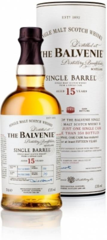 Balvenie Single Barrel 15 Years Old, gift tube
