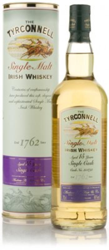Tyrconnell 15 years Single Cask, gift box