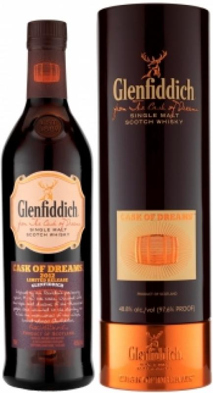 "Glenfiddich, ""Cask of Dreams"", 2012, in tube"