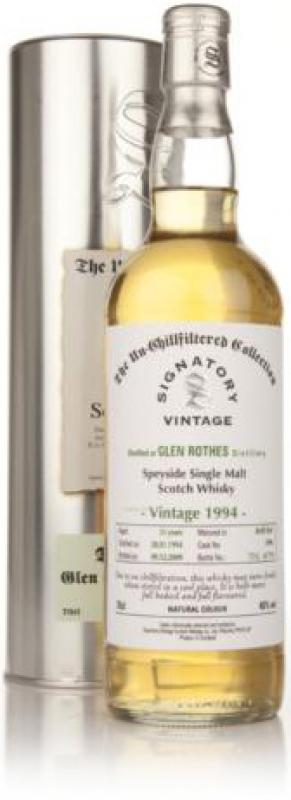 Glenrothes Un-Chillfiltered, 1994, gift box