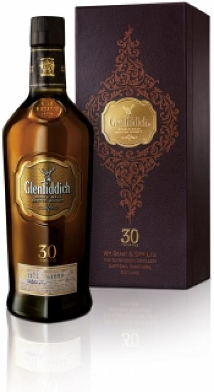 Glenfiddich 30 Years Old, gift box