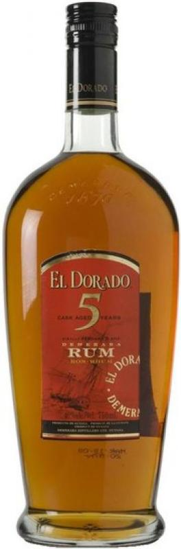 """El Dorado"" 5 Years Old Cask Aged"