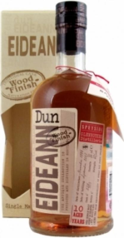 "Dun Eideann Glenrothes 10 years Individual Cask Wood Finish ""Rum"", gift box"