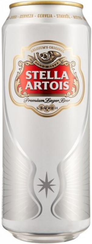 """Stella Artois"" in can"