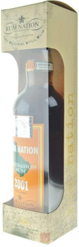 """Rum Nation"", Barbados 10 Years Old, gift box"