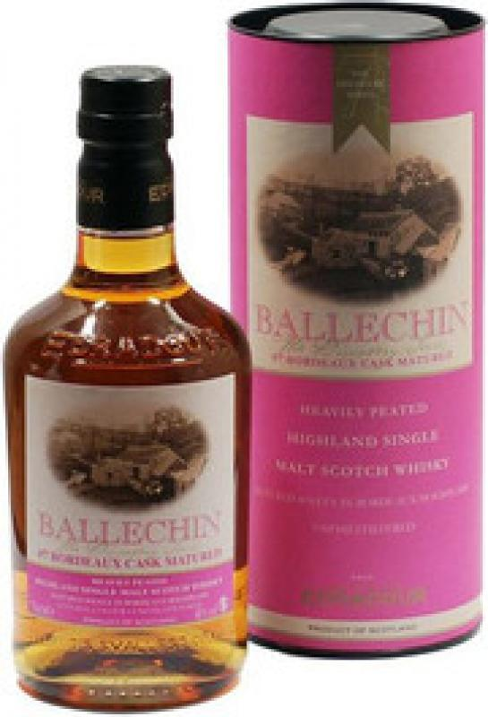 """Ballechin"" #7 Bordeaux Cask Matured, gift box"