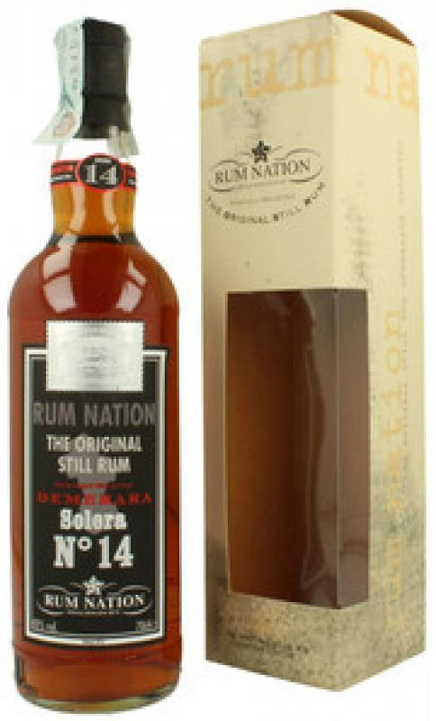 """Rum Nation"", Demerara Solera №14, gift box"