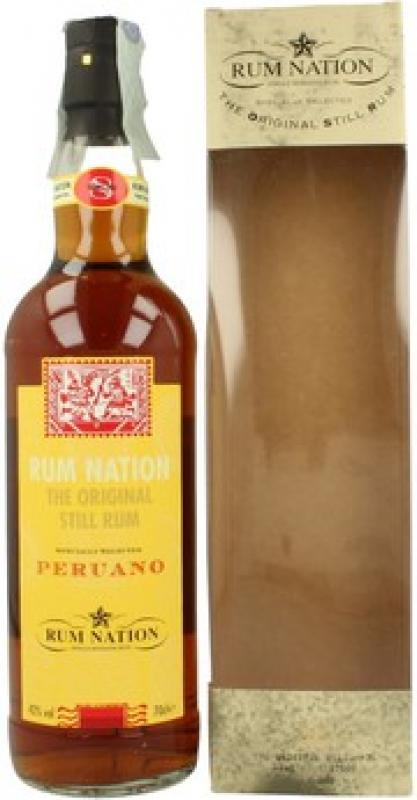 """Rum Nation"", Peruano 8 Years Old, gift box"