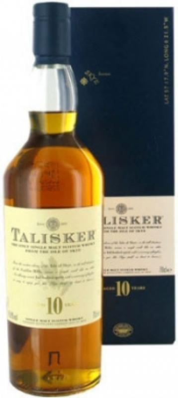 Talisker malt 10 years old, with box