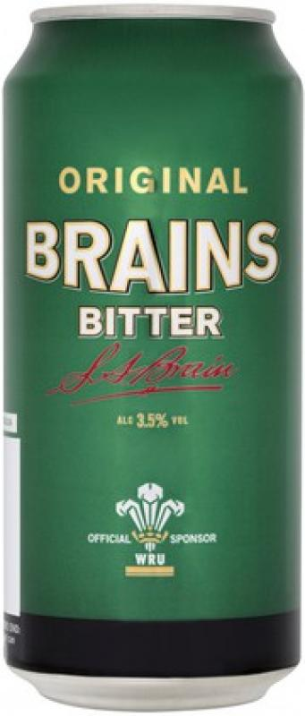 Brains Bitter, in can
