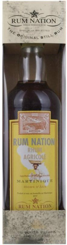 """Rum Nation"", Martinique Hors d'Age AOC, gift box"