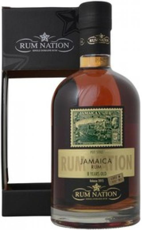 """Rum Nation"", Jamaica Pot Still 8 Years Old, gift box"