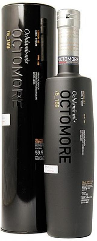 "Bruichladdich, ""Octomore"" 5_169, in tube"