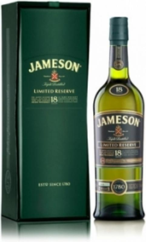 Jameson 18 Years Old, with box