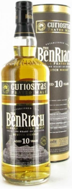 Benriach 10 years Curiositas, Iin Tube (46%)