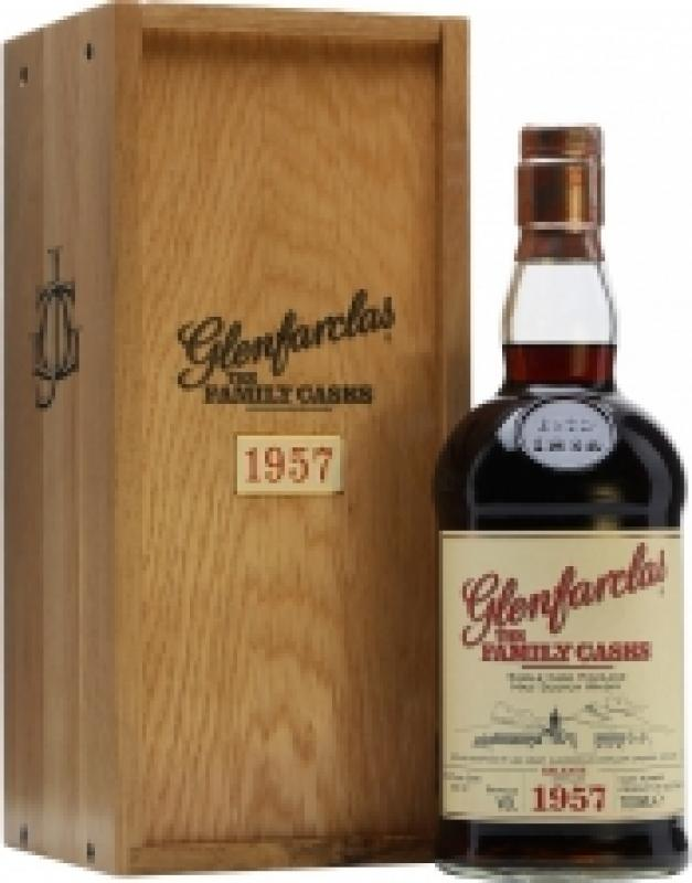 Glenfarclas 1957 Family Casks, in wooden box