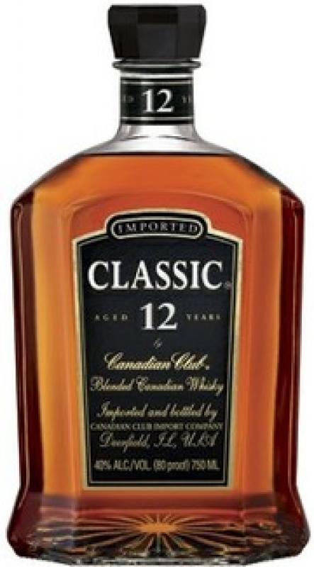 Canadian Club Classic aged 12 years