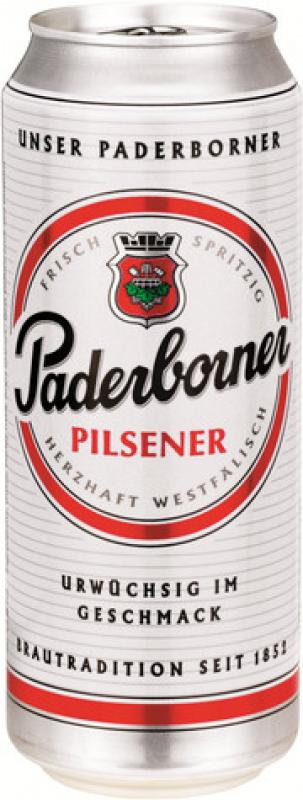 Paderborner, Pilsener, in can