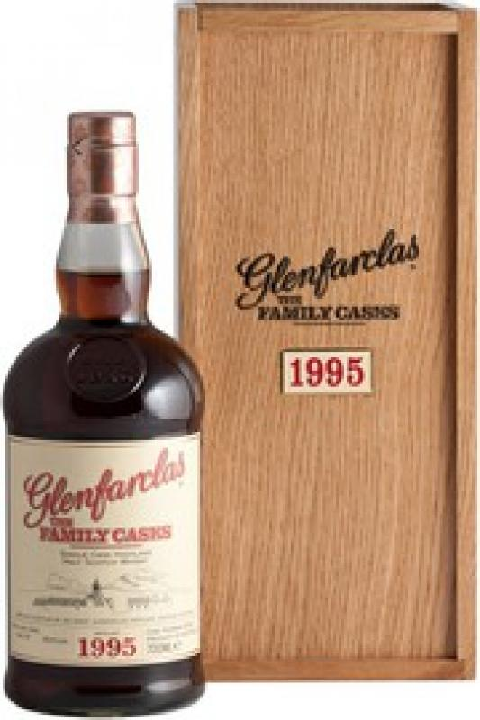 Glenfarclas 1995 Family Casks, in wooden box