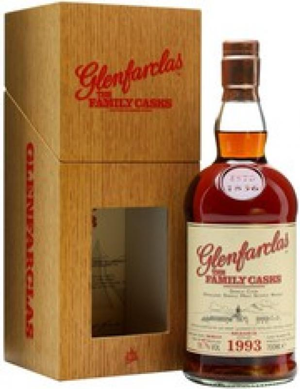 Glenfarclas 1993 Family Casks, in wooden box