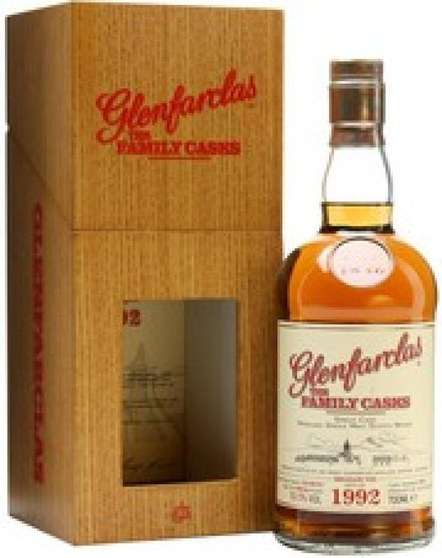 Glenfarclas 1992 Family Casks, in wooden box