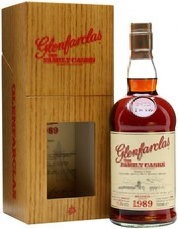 Glenfarclas 1989 Family Casks, in wooden box
