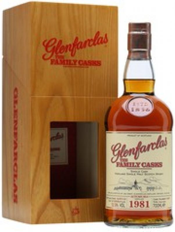 Glenfarclas 1981 Family Casks (52,9%), in gift box