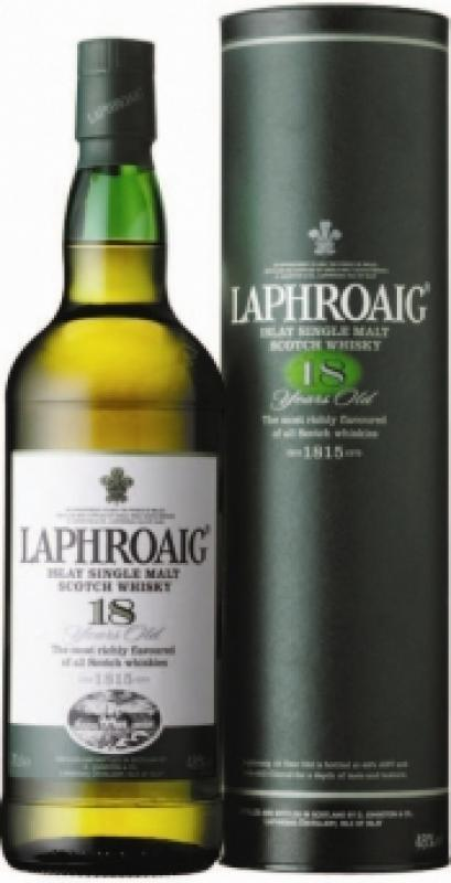 Laphroaig Malt 18 Years Old, gift box