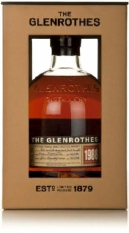 Glenrothes Single Speyside Malt, 1988