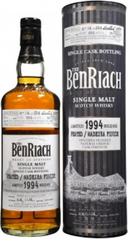 Benriach Madeira Finish, 20 Years Old, 1994, in tube