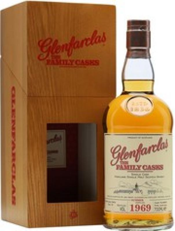 Glenfarclas 1969 Family Casks (48,9%), in gift box
