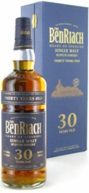 Benriach 30 years old, gift box