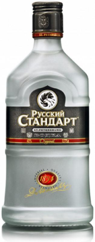 """Russian Standard"" Original, flask"