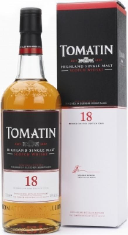 Tomatin 18 Years Old, gift box