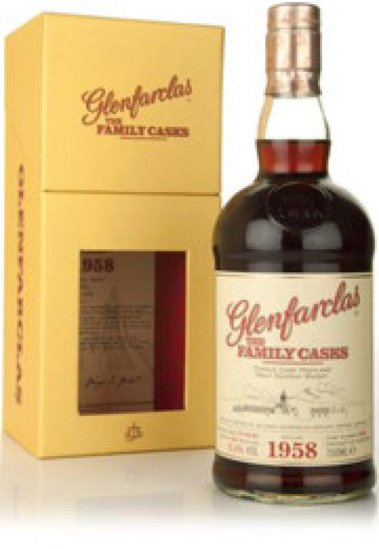 Glenfarclas 1958 Family Casks, in gift box