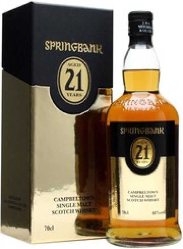 "Springbank"" 21 Years Old, gift box"