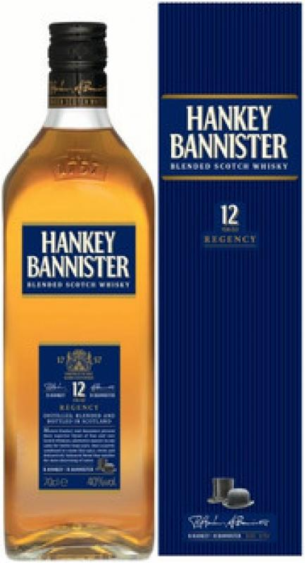 """Hankey Bannister"" 12 Years Old, gift box"