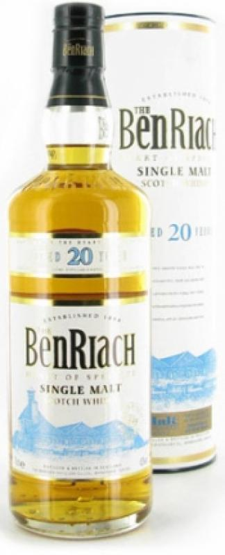 Benriach 20 Years Old, In Tube